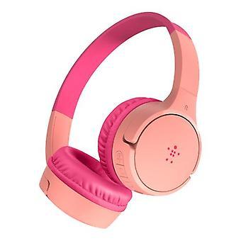 Belkin SOUNDFORM Mini, Casque, Bandeau, Musique, Rose, Binaural, Paire Bluetooth