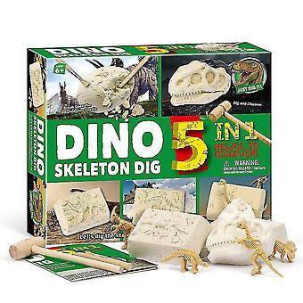 科学探査セットジュラ紀の世界は科学的な鉱山のおもちゃボックスの子供のおもちゃ海の海賊の頭蓋骨を掘る