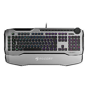 Numeric keypads horde aimo membranical rgb gaming keyboard  uk layout  white roc-12-352-we