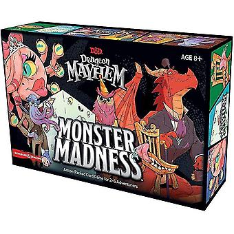 Tile games dungeons dragons dungeon mayhem card game: monster madness
