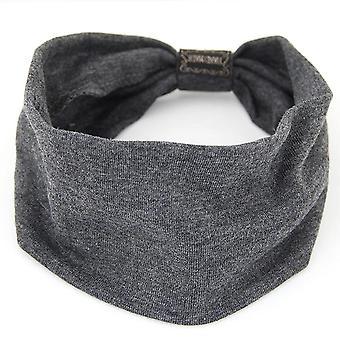 Full Cotton Yoga Sports Headband Moisture Wicking Fitness Hair Band