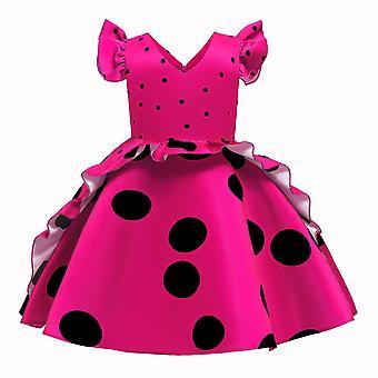 Elegant Girl Party School Princess Dress