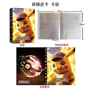 240 Pokemon Card Colectia Booklet + 100buc Rare Pokemon Carduri