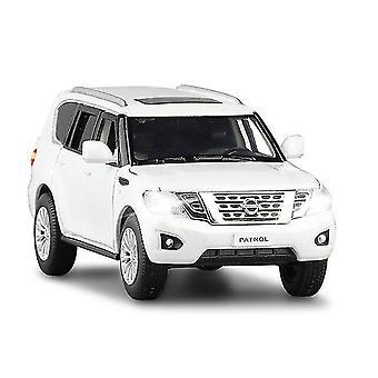 Qian 1:32 Nisssan Patro Car Die Cast Alloy Car Model Edition Kolekcjonerskie samochody Zabawka Prezent urodzinowy