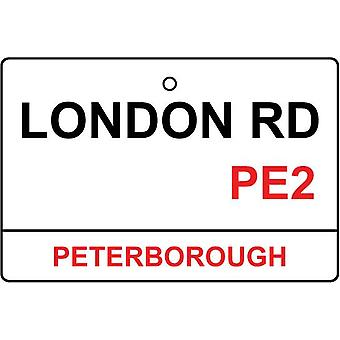 Peterborough / London Rd gade underskrive bil luftfriskere