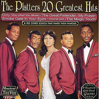 Platters - 20 Greatest Hits [CD] USA import