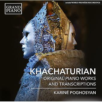 Khachaturian / Poghosyan - Pno Works & Ballet Transcriptions [CD] USA import