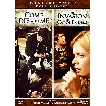 Come Die with Me/Invasion of Carol Enders [DVD] USA import