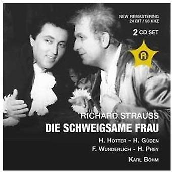 R. Strauss - Richard Strauss: Die Schweigsame Frau (Salzburg 08.08.1959) importar de Estados Unidos [CD]