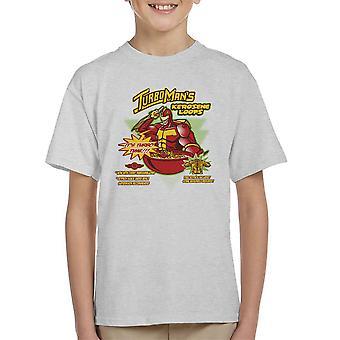 Kerosene Loops Turbo Man Jingle All The Way Cereal Kid's T-Shirt
