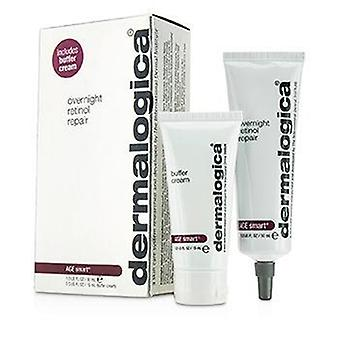 Dermalogica Age Smart Set: Overnight Retinol Repair 30ml + Buffer Cream 15ml - 2pcs