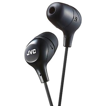 JVC Intraaural Marshmallow Custom Fit In-Ear Headphones - Black