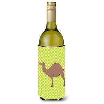 F1 Hybrid Camel Green Wine Bottle Beverge Insulator Hugger