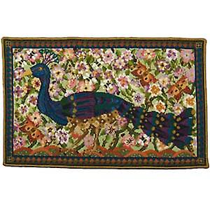 Peacock Wallhanging Tapisserie Toile