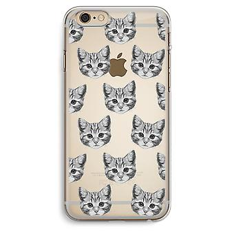 iPhone 6 Plus / 6S Plus Transparent Case (Soft) - Kitten