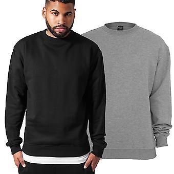 Urban classics - urban-fit crew neck Sweatshirt sweater
