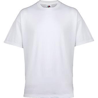 Fruits du métier à tisser Mens Belcoro fils Rib Crew Neck sous-vêtements T-Shirt