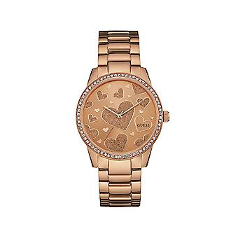 Guess W0699L3 Serenade Rose Gold Tone Ladies Watch
