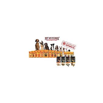 Pet Munchies Dog Training Treats Liver and Chicken 150g, pack of 8