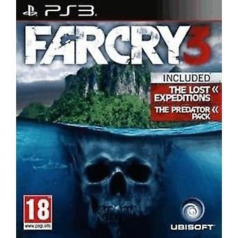 Far Cry 3-PS3-spel-nieuw