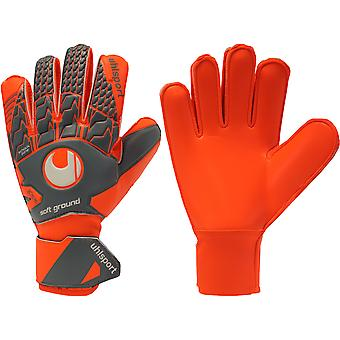 UHLSPORT AERORED SOFT PRO Goalkeeper Gloves