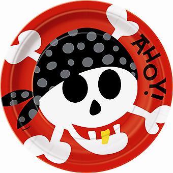 9「海賊プレート