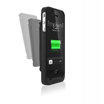 Third rail slim sleeve and smart battery 1250mAh combo pack for iPhone 4 4 S