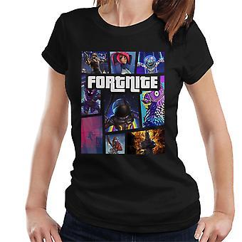 Fortnite Grand Theft Auto Damen T-Shirt