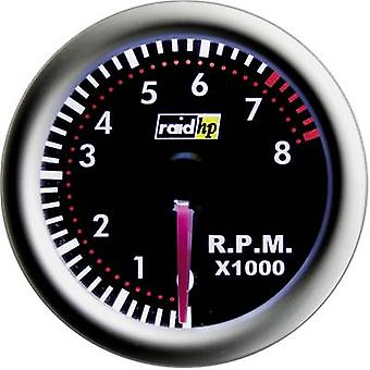 raid hp Tachometer 0 up to 8000rpm 12V