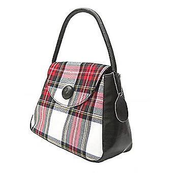 タータン S ハンドバッグ (スチュワート ドレス)