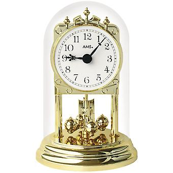Nostalgic clock nostalgic year clock quartz plastic brass optical mineral glass