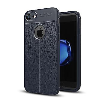Silicium hud dækning case for Apple iPhone 7 cover ramme tilfælde blå