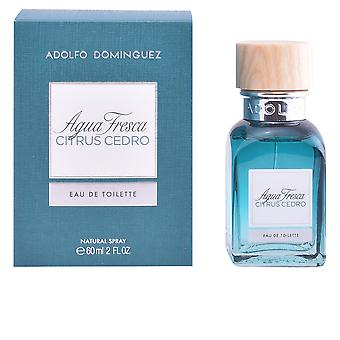 Adolfo Dominguez Agua Fresca citrus Cedro EDT spray 60 ml férfiaknak