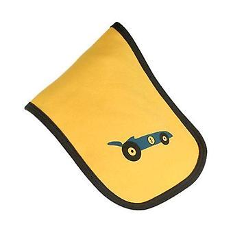 Gelb & racing Auto Spucktuch blau