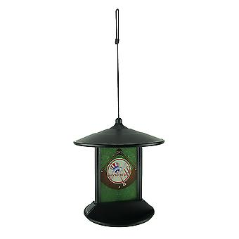 New York Yankees Logo Solar Powered Hanging Birdfeeder