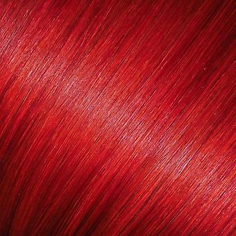 Red - Clip in Hair Extensions - 18 inch - Bright Colours