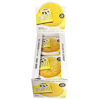 Lenny & Larry's Complete Cookies In Flavour Lemon Poppy Seed Box Of 12 Cookies