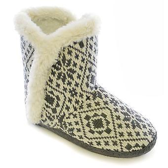 تضمنت النسائي سلومبيرزز محبوك النعال الحذاء الكاحل