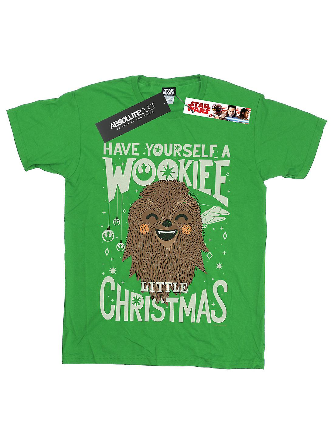 Star Wars Boys Wookiee Little Christmas T-Shirt