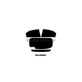 Pré coupé vitres teintées - Honda Civic 5 portes à hayon - 2012 à 2015 - glaces arrière