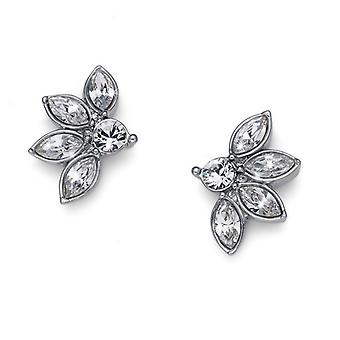Oliver Weber Post Earring Delight Rhodium Crystal
