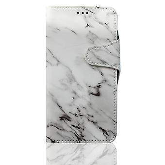 Funda de cartera de mármol - Samsung Galaxy S9+