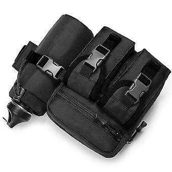 La bolsa mag en negro, 18x18x8 cm modelo 2018-1806
