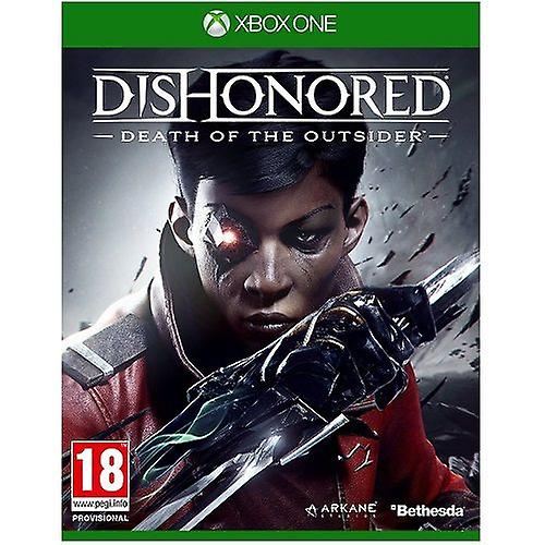 Dishonored Death of The Outsider Xbox One Game