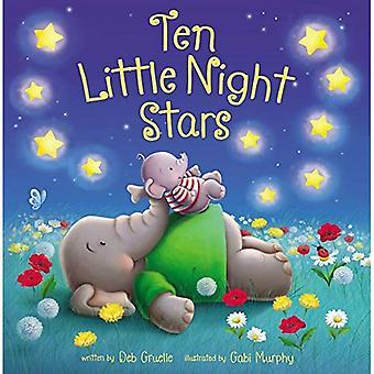Dix petites étoiles de nuit [cartonné]