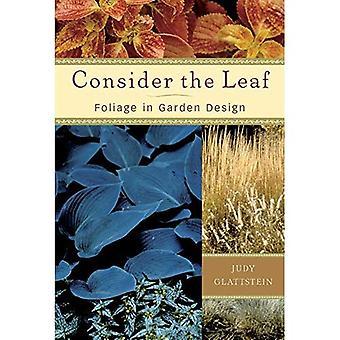 Consider the Leaf: Foliage in Garden Design
