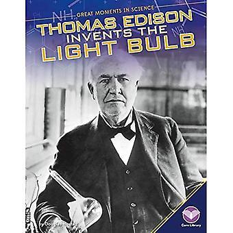 Thomas Edison uppfinner glödlampan (stora ögonblicken i Science)