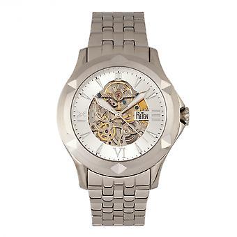 Reign Dantes Automatic Skeleton Dial Bracelet Watch - Silver