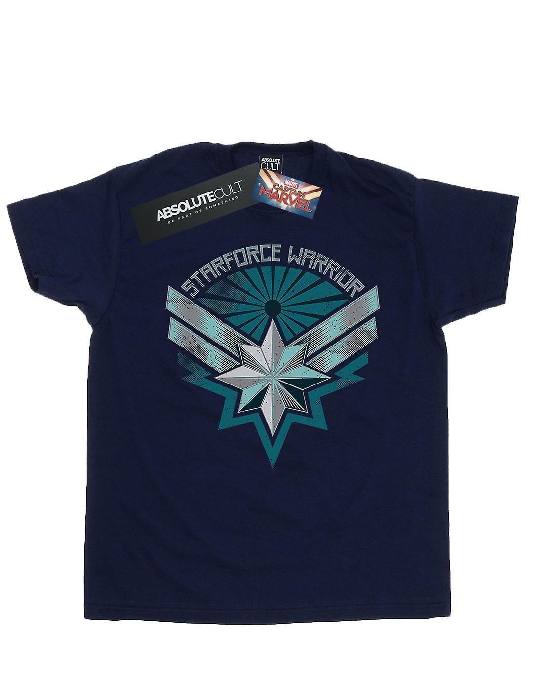 Marvel Girls Captain Marvel Starforce Warrior T-Shirt