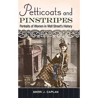 Enaguas y retratos de las telas a rayas de la mujer en la historia de las calles de pared por Caplan y Sheri